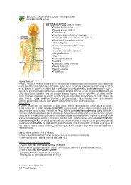 apostila sistema nervoso - Sogab