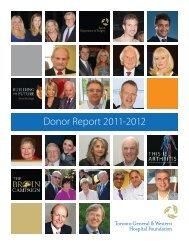 PDF Version - Toronto General & Western Hospital Foundation