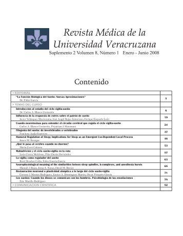 Suplemento 2 Vol 8 No 1.indd - Universidad Veracruzana