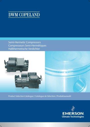 Semi-Hermetic Compressors Compresseurs Semi ... - Copeland