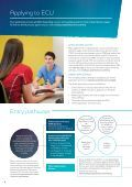 Admissions Brochure - Edith Cowan University - Page 6