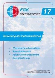 Energetische Inspektion von Lüftungs- und Klimaanlagen - FGK