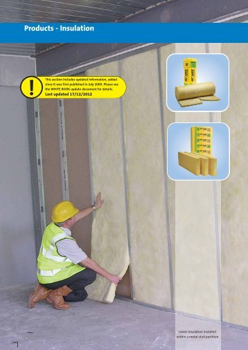 WHITE BOOK - Products - Insulation - British Gypsum