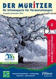 Ausgabe Dezember 2010 - Der Müritzer
