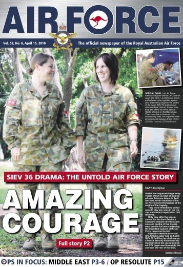 Edition 5206, April 15, 2010 - Department of Defence