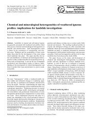 Chemical and mineralogical heterogeneities of ... - HAL-Inria