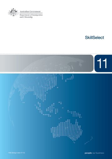 1406 - SkillSelect - Booklet 11 - Department of Immigration ...