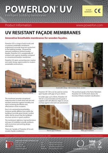 Powerlon UV Standard - Industrial Textiles and Plastics Ltd