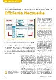 Effiziente Netzwerke - Neue Verpackung