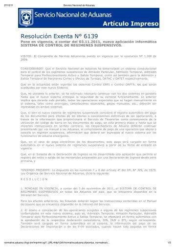 Resolución Exenta N° 6139 - Pollmann
