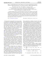 Theory of Spin Relaxation in Two-Electron Lateral Coupled ...