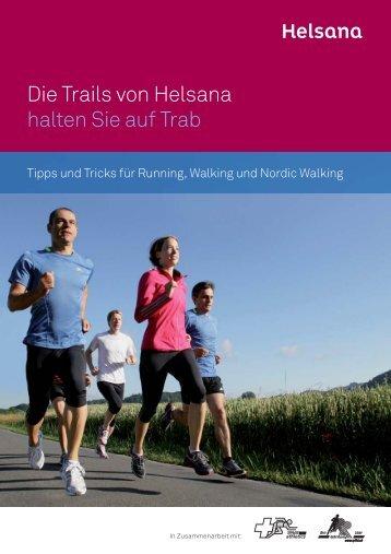 Trail-Broschüre - Helsana Versicherungen AG