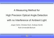 A Measuring Method For High Precision Optical ... - Retroconferences