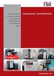 Kompressoren / Drucklufttechnik
