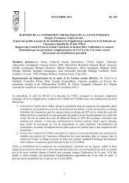 Rapport de la commission - RC 407 - Canton de Vaud