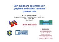 Spin p qqubits and decoherence in graphene and carbon nanotube quantum dots