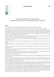 Texte adopté par le Conseil d'Etat - Canton de Vaud