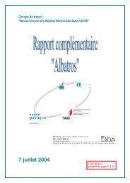Rapport complémentaire