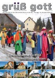 Pfarrblatt Dezember 2009 - Katholische Kirche Steiermark