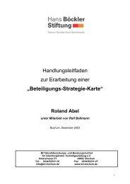 """Handlungsleitfaden zur Erarbeitung einer """"Beteiligungs ... - BIT e.V."""