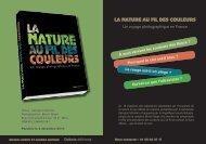 LA NATURE AU FIL DES COULEURS - Dakota Editions