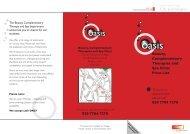 Price List - Oasis Salon Finsbury Park - City and Islington College