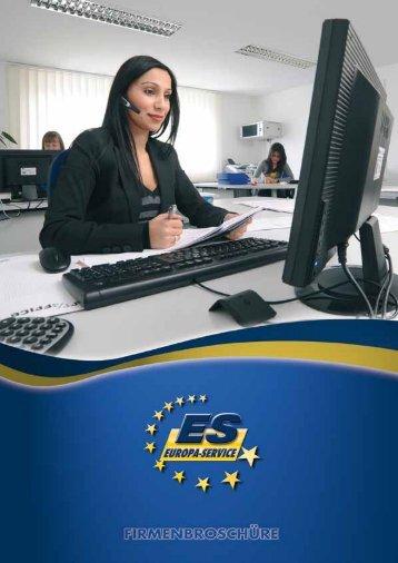 Firmen- Broschüre downloaden (PDF 783 kb) - ES Club - Europa ...