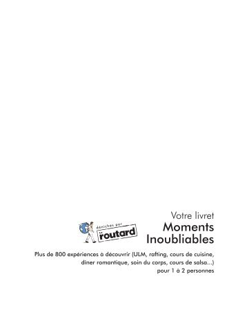 Moments Inoubliables - E-Merchant