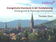 Thorsten Donn - Stadt Freiburg im Breisgau