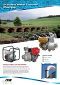 Engine Driven Water Transfer Products - Finsbury Pump Systems - Page 4