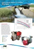 Engine Driven Water Transfer Products - Finsbury Pump Systems - Page 6