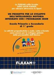 Manuale Progetto Sport a Scuola - Fijlkam