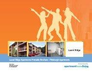 Laurel Ridge Apartments Printable Brochure - Apartments For Rent