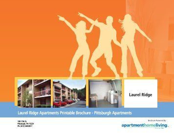 Laurel Ridge Apartments Printable Brochure - Apartments For Rent