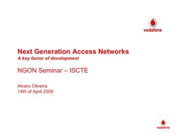 Next Generation Access Networks
