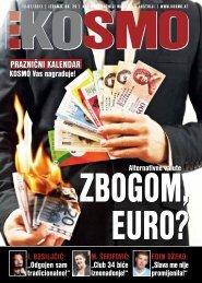 cover story PRAZNIčNI KAleNDAR - Kosmo