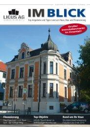 Finanzierung Top-Objekte Rund um Ihr Haus - Licus AG