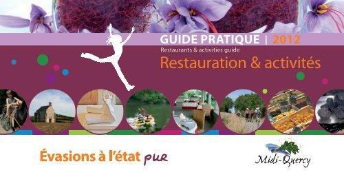 restaurants - Pays Midi-Quercy