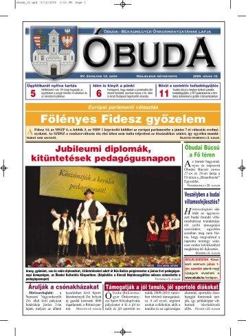 Fölényes Fidesz gyõzelem - Óbuda-Békásmegyer