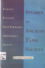 Page 1 Page 2 Page 3 STUDIES IN ANCIENT TAMIL SOCIETY ...