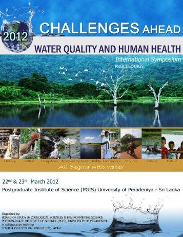 Proceedings - Postgraduate Institute of Science