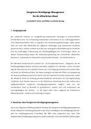 Integriertes Beteiligungs-Management für die ... - Rudolf X. Ruter