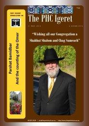 Wishing all our Congregation a Shabbat Shalom and Chag Sameach