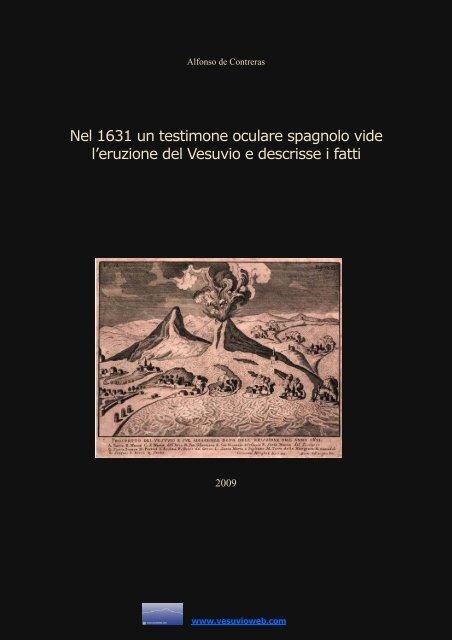 Alfonso de Contreras- L'eruzione del Vesuvio del ... - Vesuvioweb