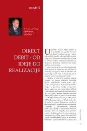 direct debit - od ideje do realizacije - Udruženje banaka Srbije