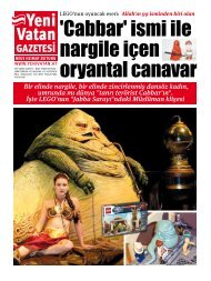 HABER Bu - Yeni Vatan Gazetesi Online