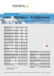 5002 Lienz - Winklern i. M