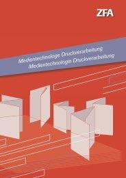 Medientechnologe Druckverarbeitung Medientechnologin ... - bvdm