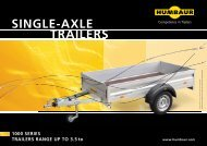 SINgLE-AxLE TRAILERS - CENTRUMPRIVESU.CZ