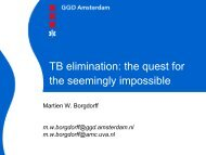 TB elimination: the quest for the seemingly impossible - European ...